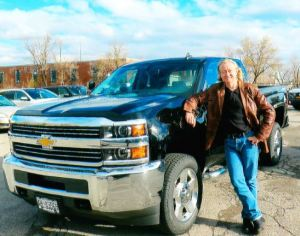 2015-11-19 Steve and Big Black Truck - Barry's Photo